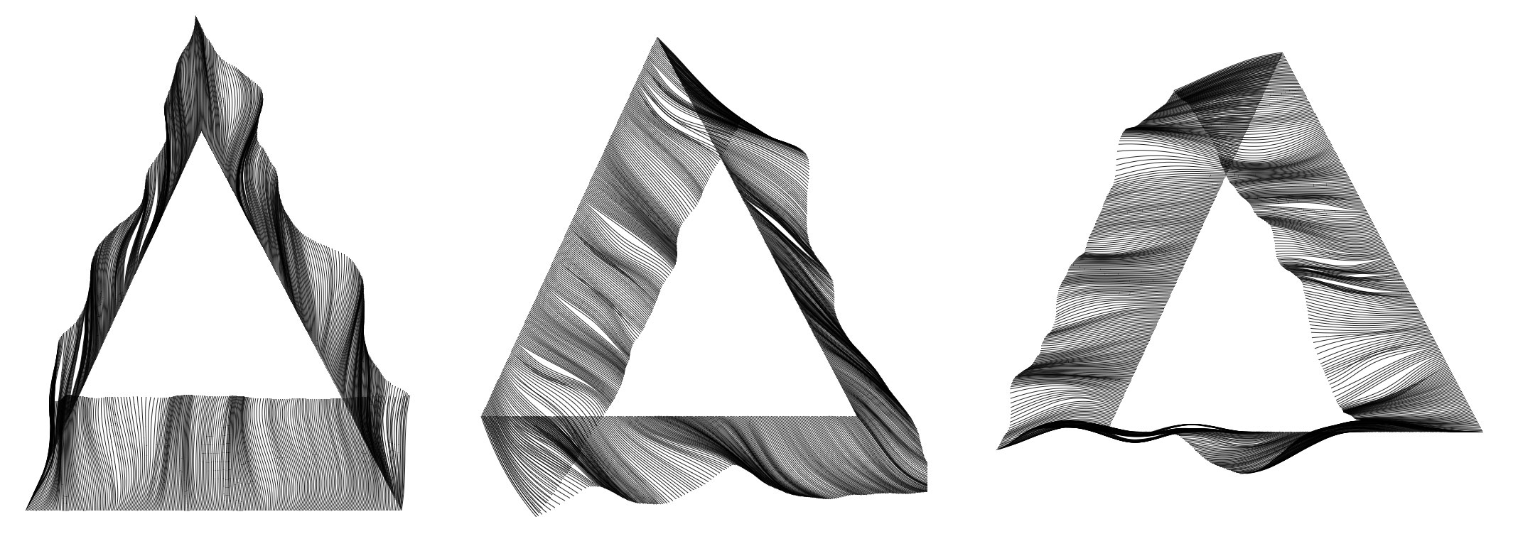 Perlin Noise on triangle perimeter