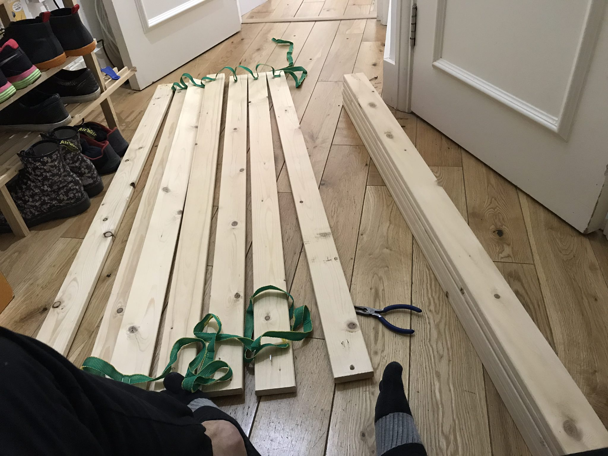Future top of the table was part of the bed frame