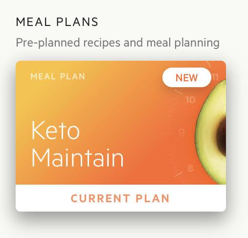 Keto maintain diet